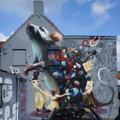 Streetart: Top 10 Murals worldwide – April 2014   Culture and Fun - Art   Scoop.it