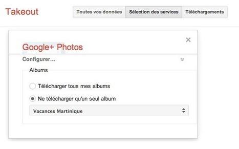 Sauvegarder les photos Picasa - Google+ en 5 étapes   Time to Learn   Scoop.it