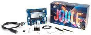 "Tiny Intel ""Joule"" IoT module runs Ostro Linux on quad-core Atom 