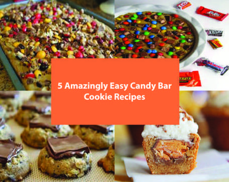 5 Amazingly Easy Candy Bar Cookie Recipes - Kitchen Things | Stuff for the Home | Scoop.it