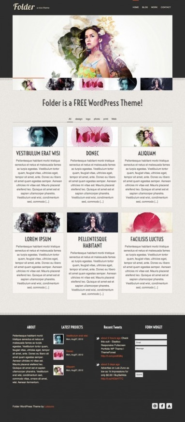 Temi gratuiti per WordPress - Total Photoshop | wordpressmania | Scoop.it