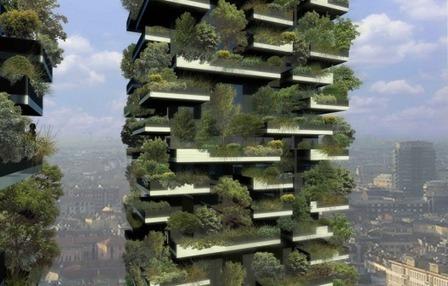 En Construcción: El Primer Bosque Vertical / Boeri Studio | Plataforma Arquitectura | Jardines Verticales y azoteas verdes. | Scoop.it
