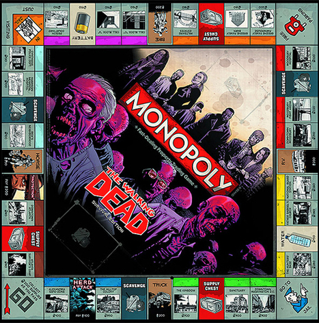 Monopoly rises from the grave with 'Walking Dead' edition | Headlines from Nath | Scoop.it