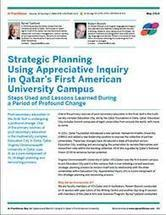Strategic Planning Using Appreciative Inquiry in Qatar's First American University Campus | Art of Hosting | Scoop.it