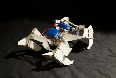 A $100 Origami Robot That Folds Itself Up and Walks Away   Science - public communication&understanding   Scoop.it