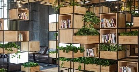 Un giardino nella caffetteria per respirare aria pulita a Pechino | Arredamento | Design | LORUSSO CONTRACT | Scoop.it