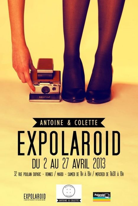 Du 2 avril au 3 mai, l'évènement national Expolaroid s'installe à Rennes avec trois expositions photo | CC Jovence | Scoop.it