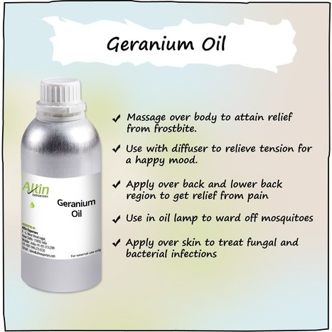 Detoxify Your Body With 100% Pure Geranium Essential Oil | Allin Exporters | Scoop.it