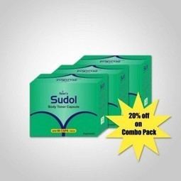 Sudol Capsules Combo Pack | Herbal Products | Scoop.it