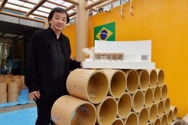 L'architecte Shigeru Ban crée un éphémère «Pavilhao» à Tokyo | Le Devoir | Kiosque du monde : A la une | Scoop.it