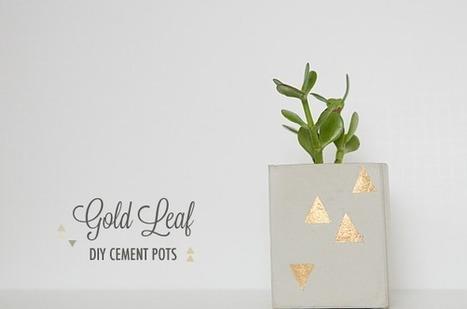 déco de table : Pots de fleurs - DIY Déco | Décoration de Mariage, Baptême et déco de table | Scoop.it