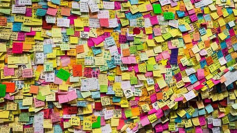 The Surprising Persuasiveness of a Sticky Note | Competitive Edge | Scoop.it