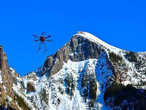 Des drones pour déclencher les avalanches | Sport et innovation | Scoop.it