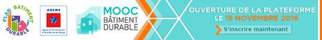 IFECO soutient la 1ère plateforme de formation bâtiment durable - MOOC | IFECO : Formations construction durable & efficacité énergétique | Scoop.it
