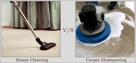 Steam Cleaning V/S Carpet Shampooing   Carpet Cleaning   Scoop.it