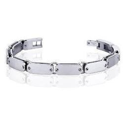 Stainless Steel Bracelet With Double Layer PSB622 | Jewellery | Scoop.it