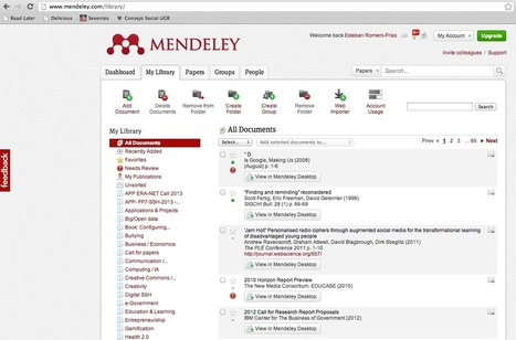 Cómo gestionar tus referencias bibliográficas (Mendeley + Dropbox + GoodReader) | WEBOLUTION! | Scoop.it