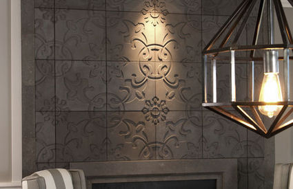 3d concrete wall tile geometric pattern mali for 3d concrete tiles