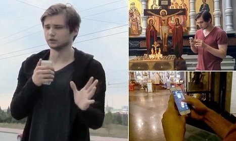 Man faces prison for playing Pokemon Go in Russian church  | World Spirituality and Religion | Scoop.it