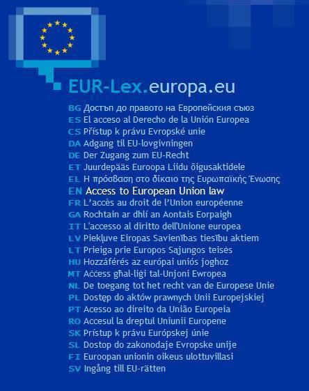 EUR-Lex - Simple search | TELT | Scoop.it