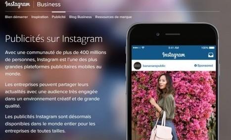 Instagram : baisse de la visibilité organique et lancement d'un espace business - Blog du Modérateur | Web, Réseaux sociaux, Communication digitale | Scoop.it
