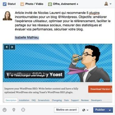[Astuce] Comment forcer un tag dans une publication Facebook? | Pascal Faucompré, Mon-Habitat-Web.com | Scoop.it