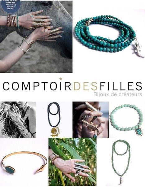 Collection Eté Bijoux Rita&Zia - Comptoir des Filles | Comptoir des Filles | Scoop.it