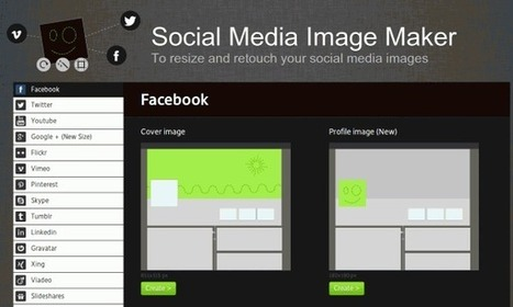 Aplicação web para ajudar a criar imagens de redes sociais | ilusaobento | Scoop.it