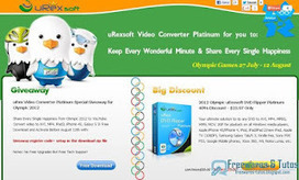 Offre promotionnelle : uRex Video Converter Platinum gratuit ! (3ème édition) | Applications du Net | Scoop.it