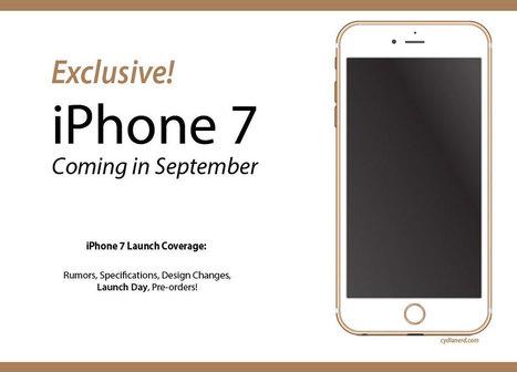 iPhone 7 Release, Specs, Features, and Launch Day | Cydia Tweaks & Jailbreak News | Scoop.it