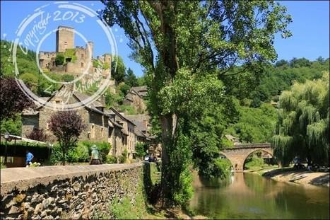 Promenade dans le village de Belcastel   Talons hauts & sac à dos   Scoop.it