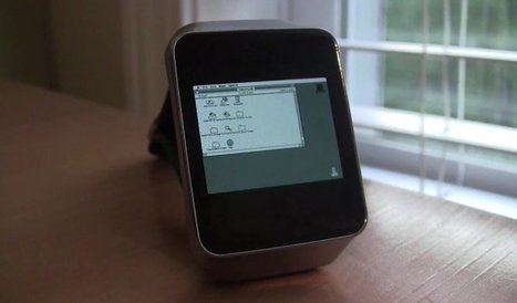 Move over Apple Watch, Macintosh II Emulated on Android Wear | Technology in Business Today | Scoop.it