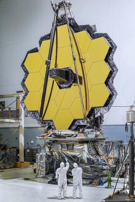 Photos Of The Day: After 20 Years, The James Webb Space Telescope Is Finished | Alan Charky - VAC AERO Vacuum Heat Treating Furnaces | Scoop.it