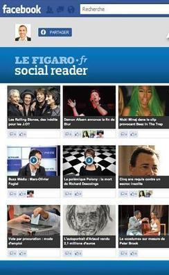 Le Figaro lance son social reader | Communication | Scoop.it
