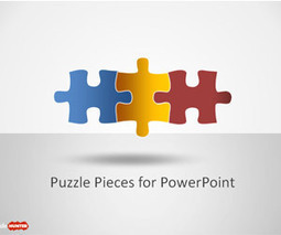Puzzle Piece Shapes for PowerPoint - Free PowerPoint Templates - SlideHunter.com   Financial Planning   Scoop.it