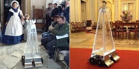 Clic France / Le Château Racconigi accueille Virgil, le premier robot italien pour visiter un musée | L'actu culturelle | Scoop.it