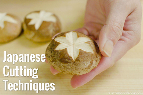 Japanese Cutting Techniques 野菜の切り方 • Just One Cookbook | La cuisine japonaise | Scoop.it