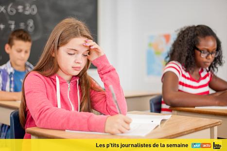 Pourquoi les enfants sont-ils stressés ? | 1jour1actu | CLEMI : Infodoc.Presse-Jeunesse | Scoop.it