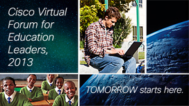Cisco Virtual Forum for Education Leaders | Into the Driver's Seat | Scoop.it