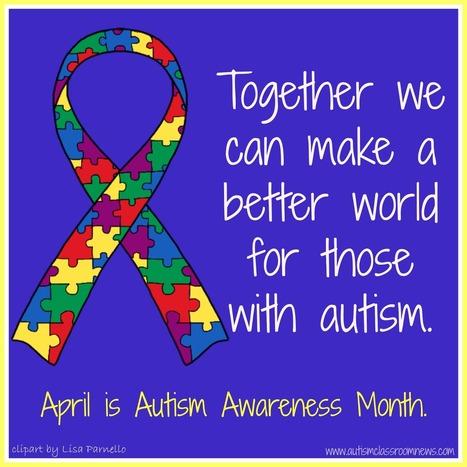 A Special Sparkle: April is National Autism Awareness Month | National Autism Awareness Month 2014 | Scoop.it