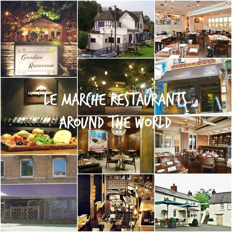 Le Marche Restaurants Around The World | Just Le Marche | Scoop.it