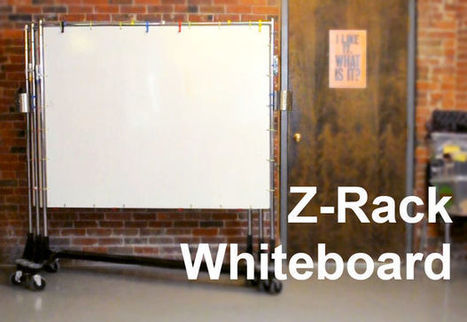Build a Z-Rack Whiteboard | Graphic Coaching | Scoop.it