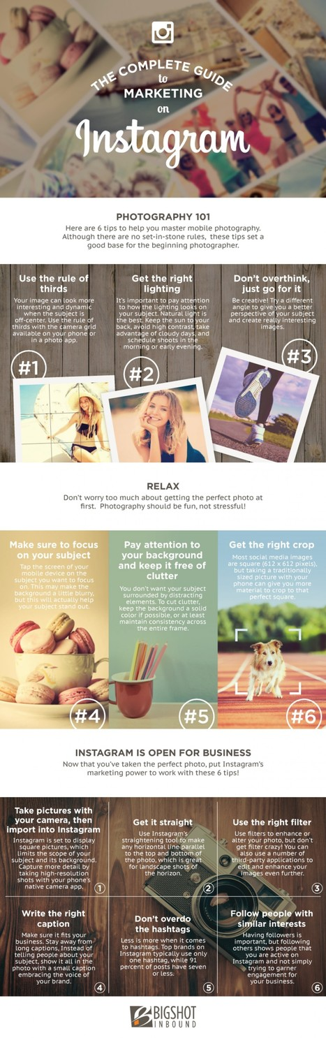 Useful starting guide on what to do to be successful on Instagram.   South African Social Networking News   Scoop.it