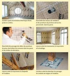 Étanchéité à l'air de la maison passive ou basse consommation / Maison basse consommation / Conseils et réglementation / Home - Isover | guide étanchéité | Scoop.it