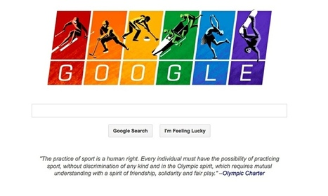 Olympic charter features on Google as it enters row over Russian anti-gay laws   annabelle's page   Scoop.it
