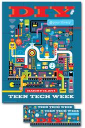 2014 Teen Tech Week Set - Poster and more. | FlippingYourClassroom | Scoop.it