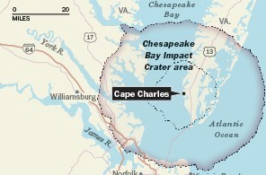 Trapped seawater discovered near the Chesapeake Bay is up to 150 million years old | Amazing Science | Scoop.it