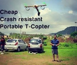 Cheap, crash resistant portable T Copter   Open Source Hardware News   Scoop.it