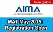 MAT May 2015: Last one week to register; application form available till April 18 | MBA Universe | Scoop.it