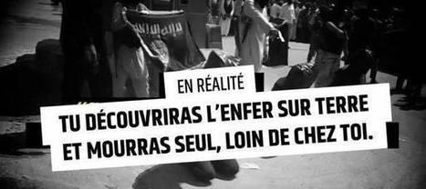La campagne choc du gouvernement contre le djihadisme - France Inter | Stratégies de communication | Scoop.it